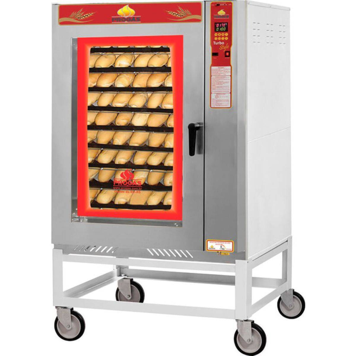 Forno Turbo a Gás 10 Esteiras PRP-10000 Progás - Magazine do Chef