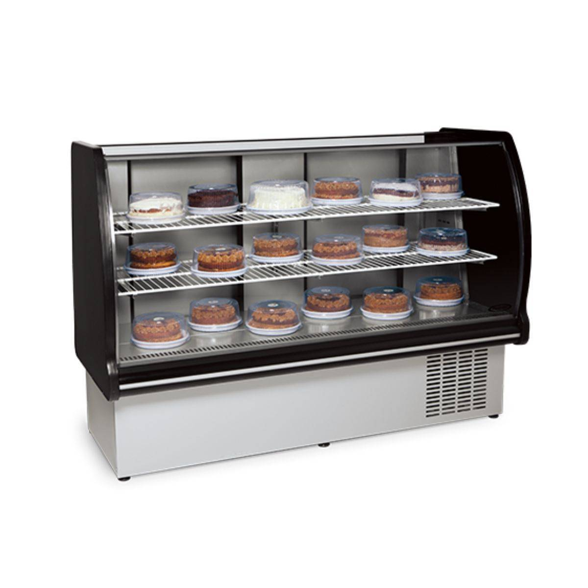 Vitrine Refrigerada para Doces 1,10m VRP-110 Conservex - Magazine do Chef