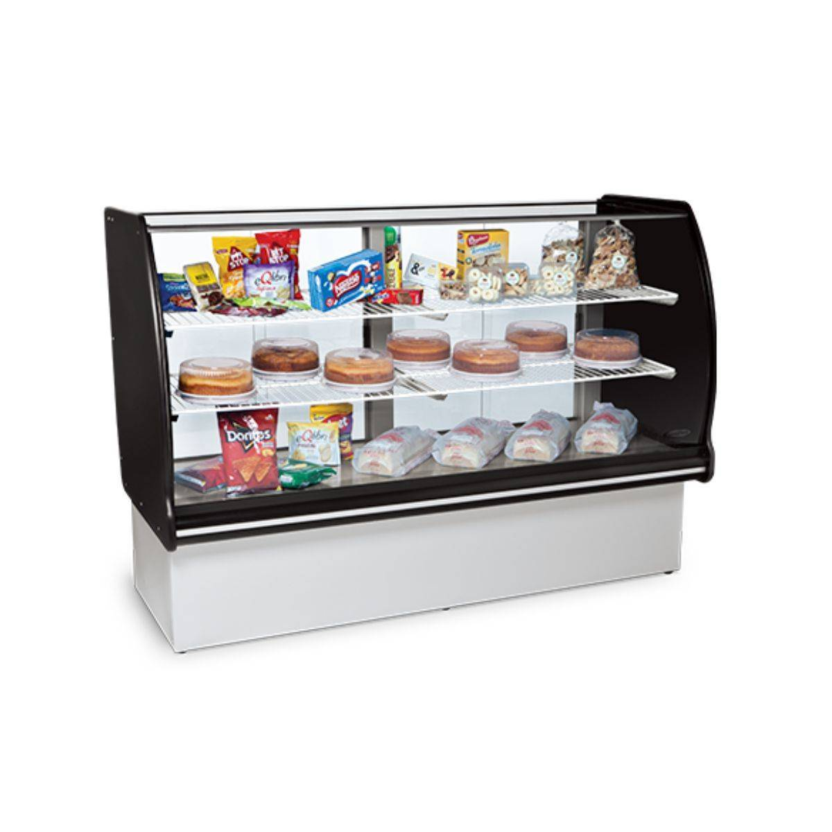 Vitrine Seca 1,10m VSP-110 Conservex - Magazine do Chef