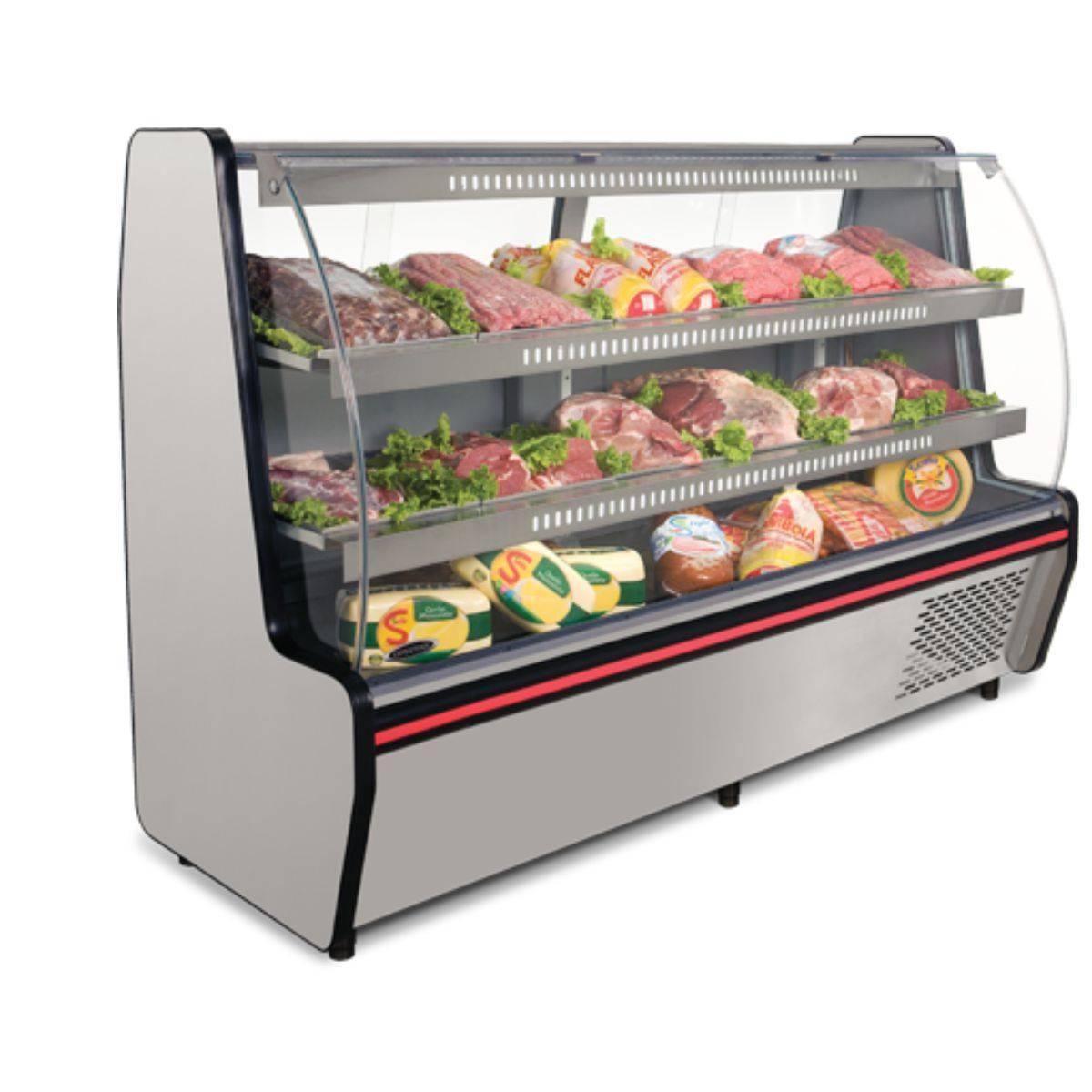 Balcão Refrigerado Visorâmico 2 Pistas VIS-200 Conservex - Magazine do Chef