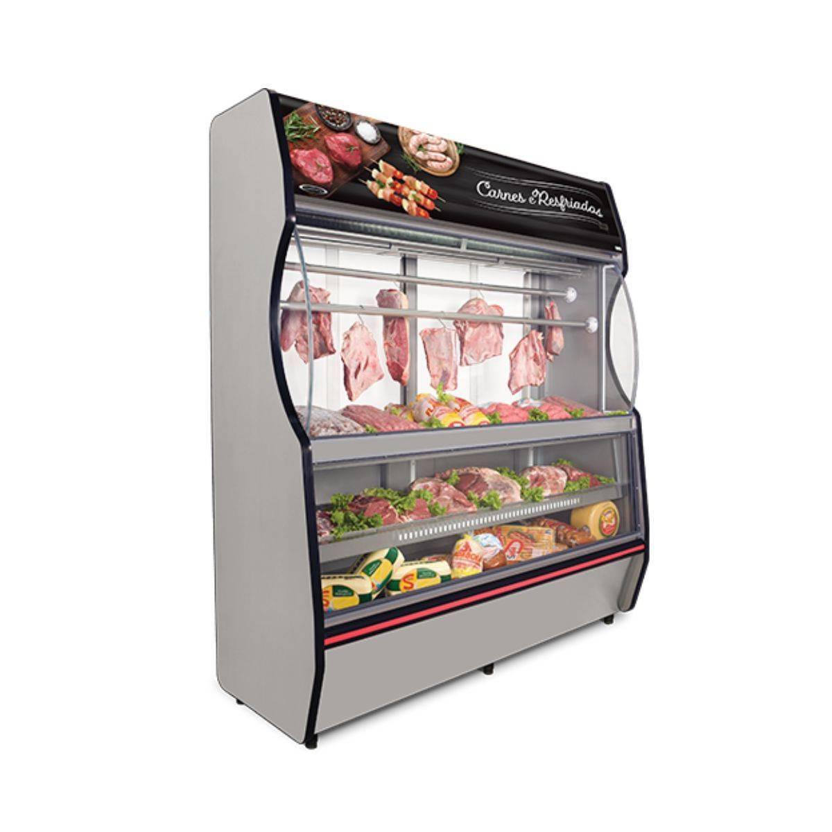Vitrine Refrigerada para Carnes VTRC-200 Conservex - Magazine do Chef