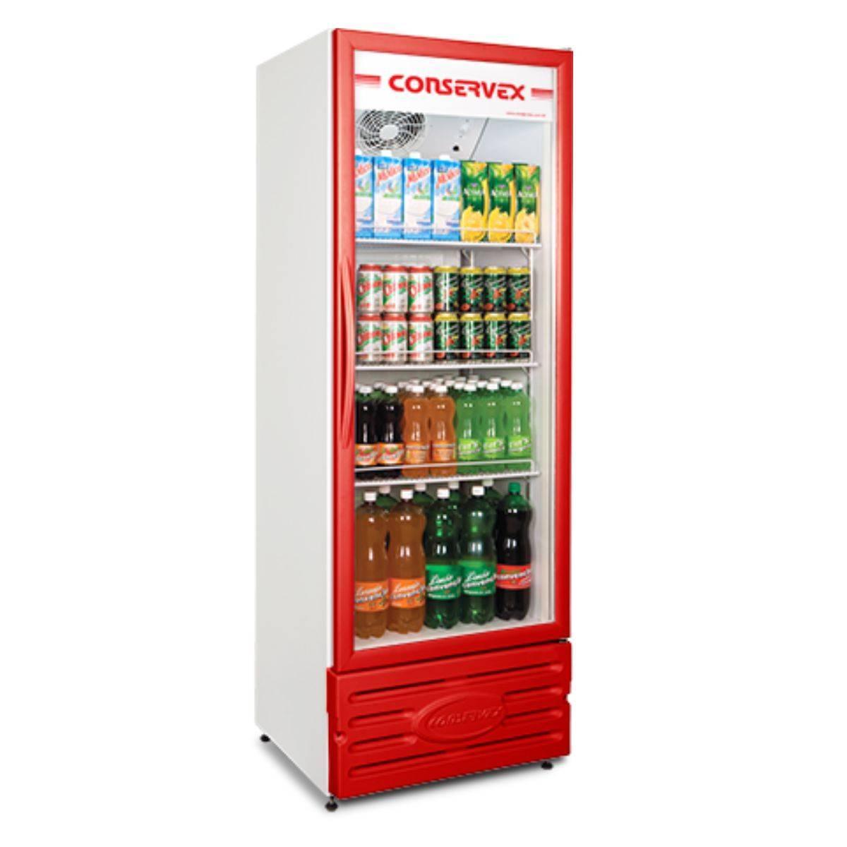 Expositor Refrigerado Vertical 400L ERV-400 Conservex  - Magazine do Chef