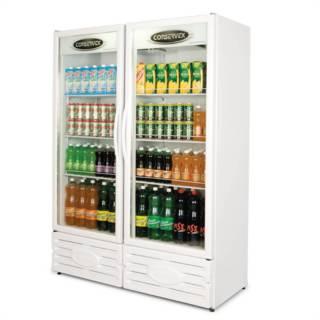 Expositor Refrigerado Vertical 2 Portas ERV-850 Conservex