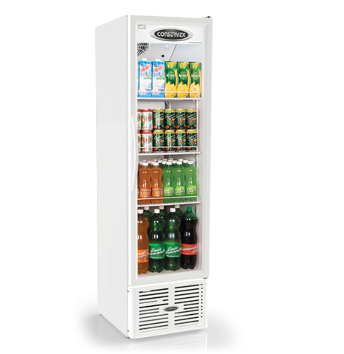 Expositor Refrigerado Vertical 250L ERV-250 Conservex  - Magazine do Chef