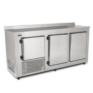 Balcão de Encosto Refrigerado 1,90m Inox BRE-190Conservex