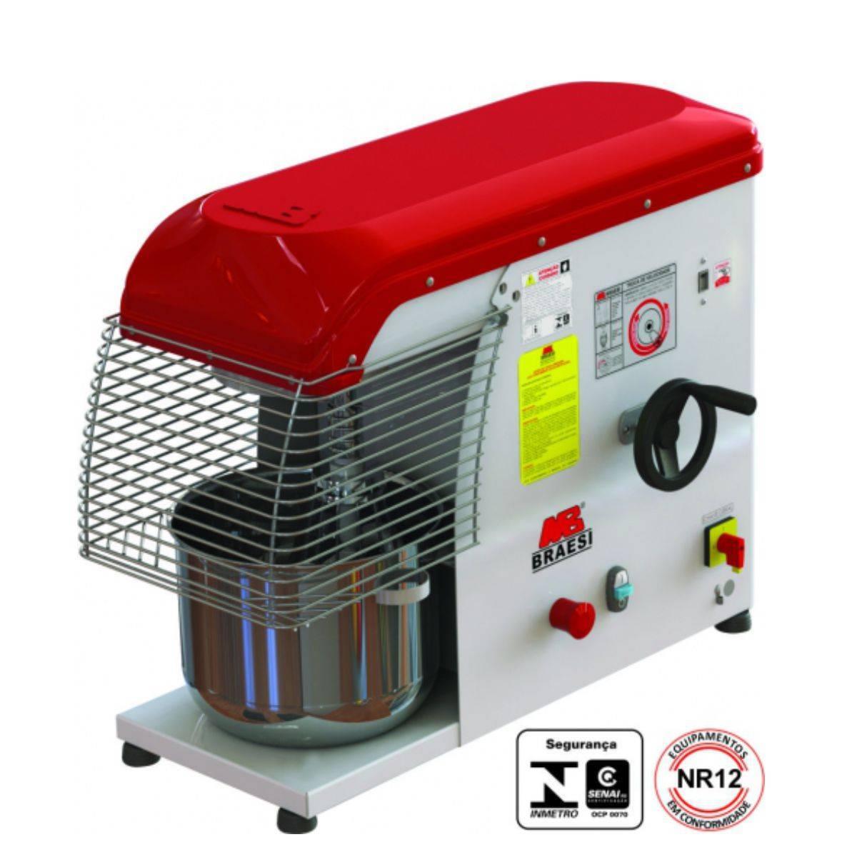 Batedeira Planetária Eletronica Industrial 12L Bivolt BP-12/ - Magazine do Chef