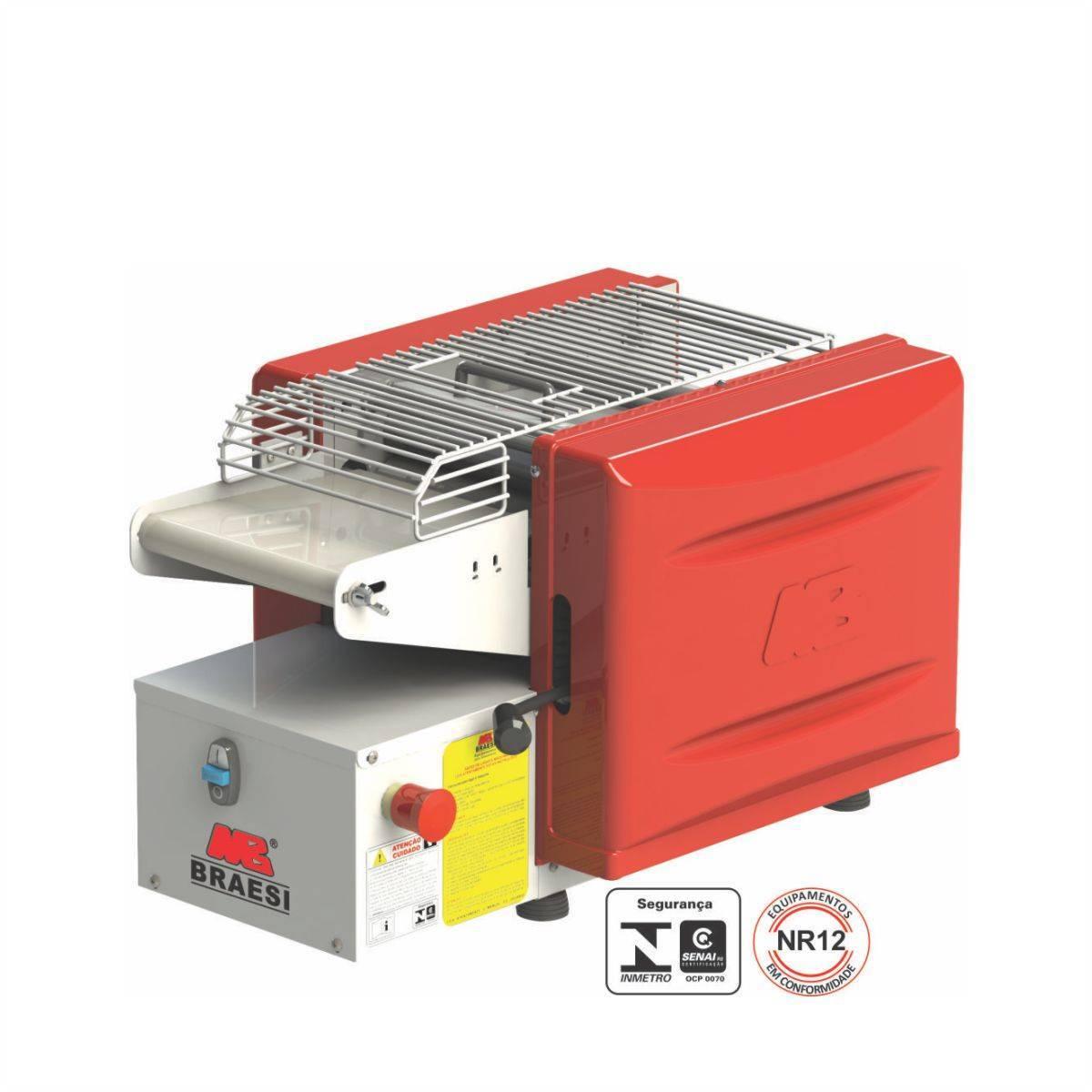 Modeladora de Pães Industrial 220mm MBMJ22/1 Braesi - Magazine do Chef