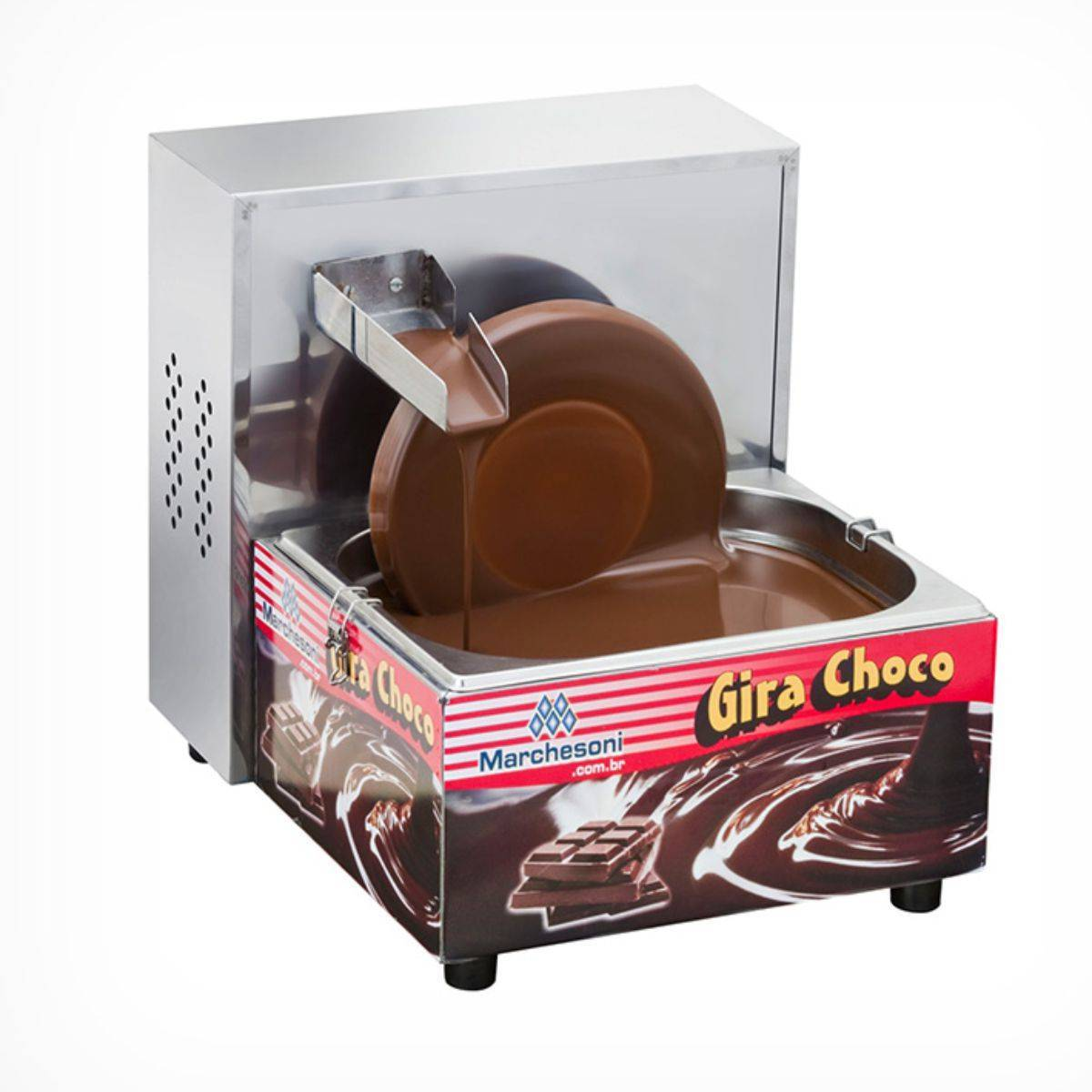 Derretedeira de Chocolate Gira Choco 5Kg Marchesoni - Magazine do Chef