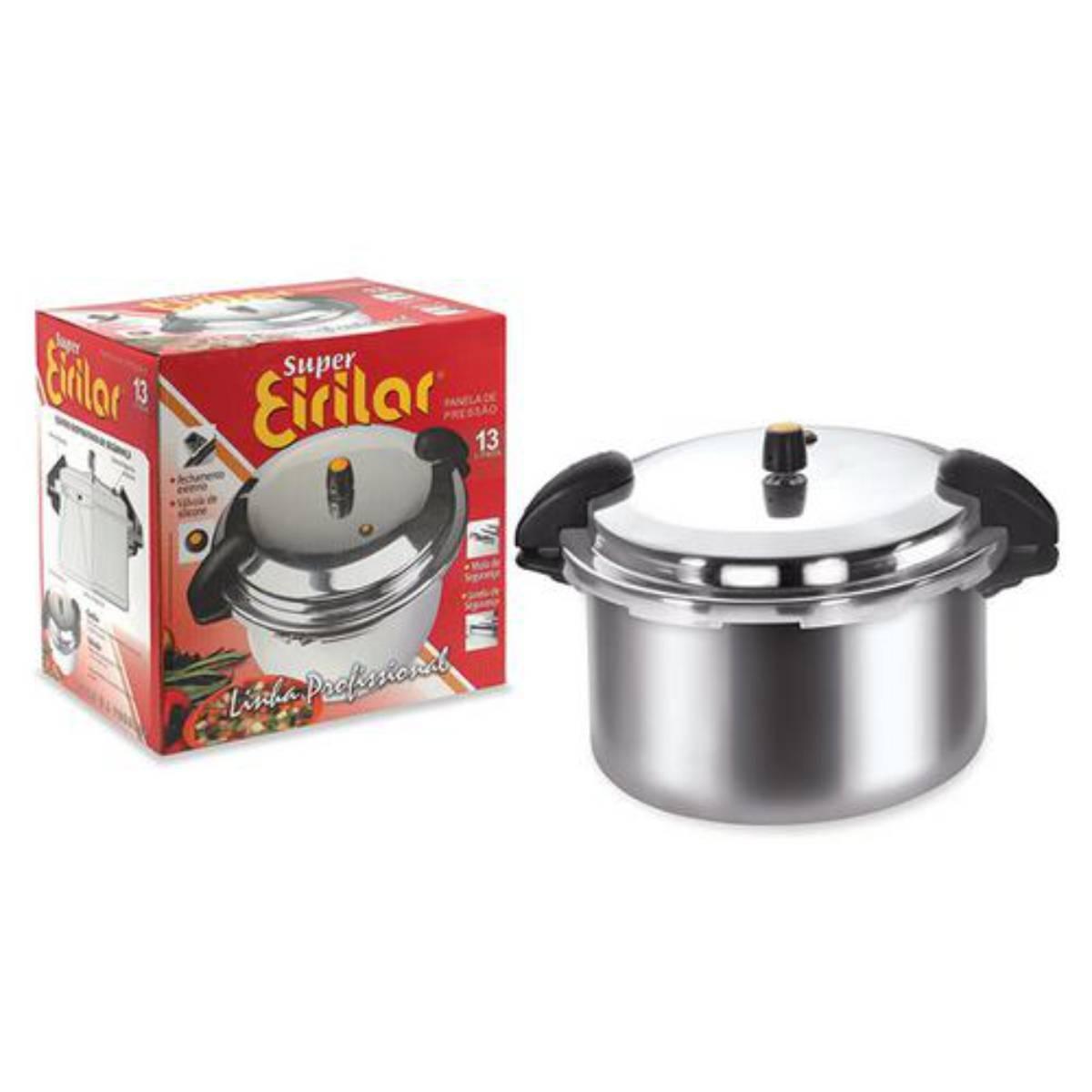 Panela de Pressão Profissional 13 litros 905 Eirilar - Magazine do Chef