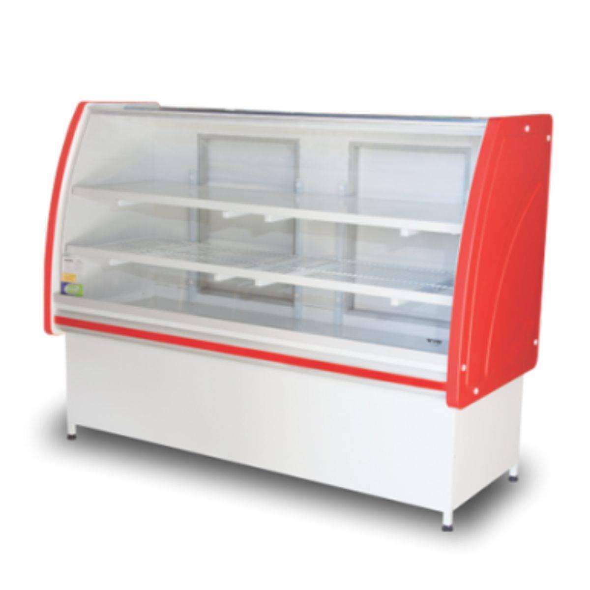 Balcão Refrigerado 1,25m Premium Refrigel - Magazine do Chef