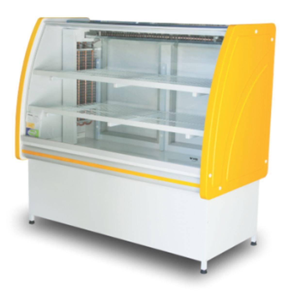Vitrine Refrigerada 1,25m Premium Refrigel - Magazine do Chef