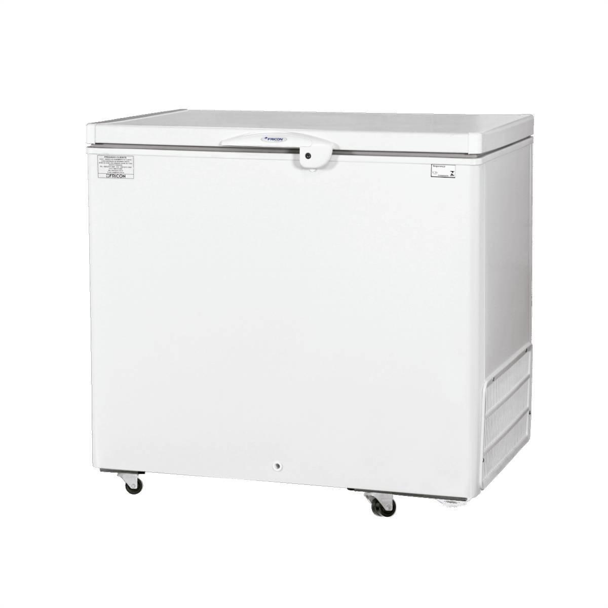 Freezer Horizontal 311L Dupla Ação HCED311 Fricon - Magazine do Chef