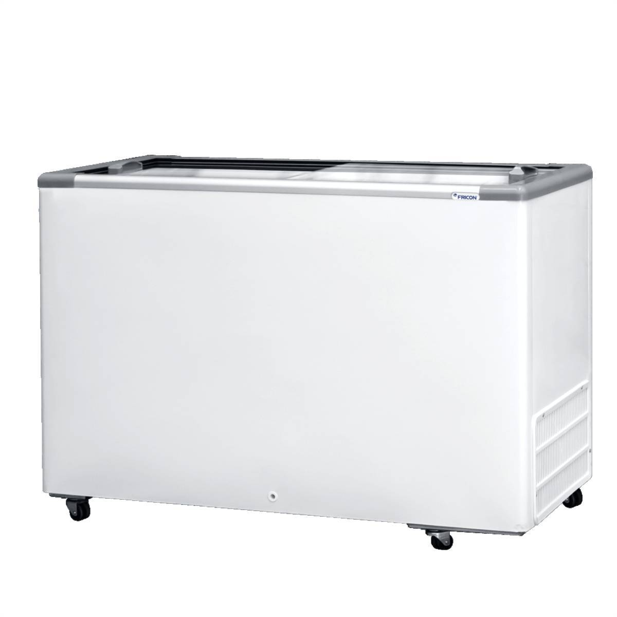 Freezer Horizontal 411L Tampa de Vidro HCEB411 Fricon - Magazine do Chef