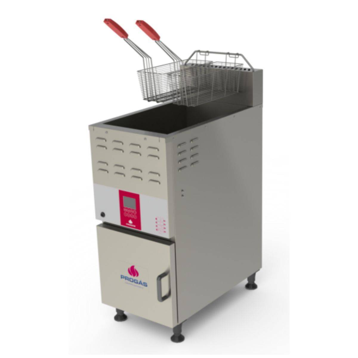 Fritador Industrial a Gás Água e Óleo 45 Litros Progás  - Magazine do Chef