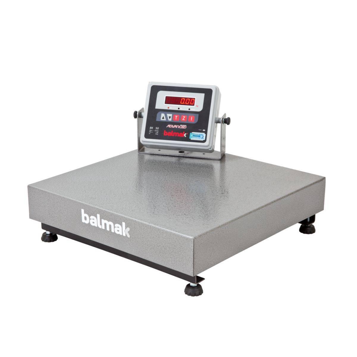 Balança Industrial Eletrônica 150Kg Plataforma BK50 Balmak - Magazine do Chef