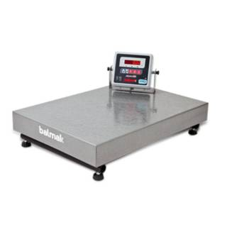 Balança Industrial Eletrônica 500Kg Plataforma BK500 Balmak