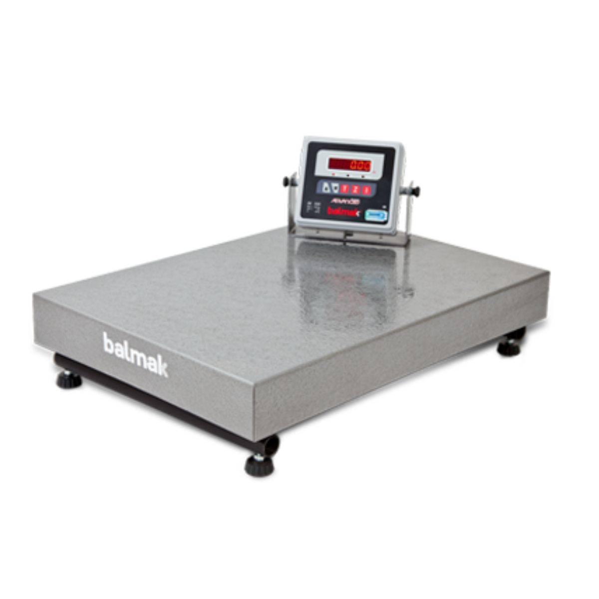 Balança Industrial Eletrônica 500Kg Plataforma BK500 Balmak - Magazine do Chef