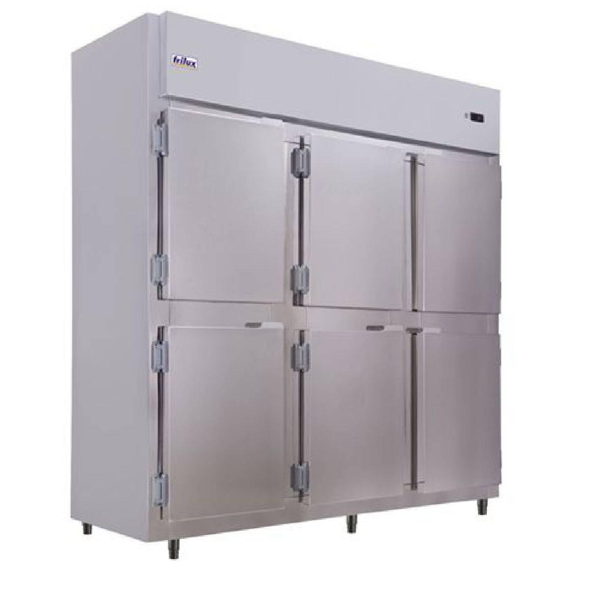 Geladeira Comercial Inox 6 Portas RF-067E Frilux - Magazine do Chef