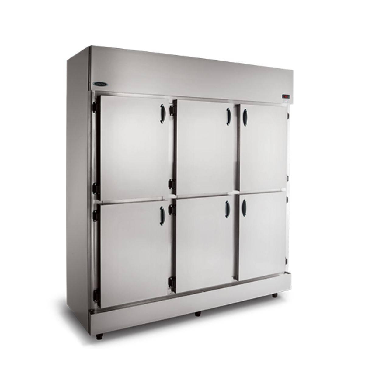 Geladeira Comercial 6 Portas Inox RC-6 Conservex - Magazine do Chef