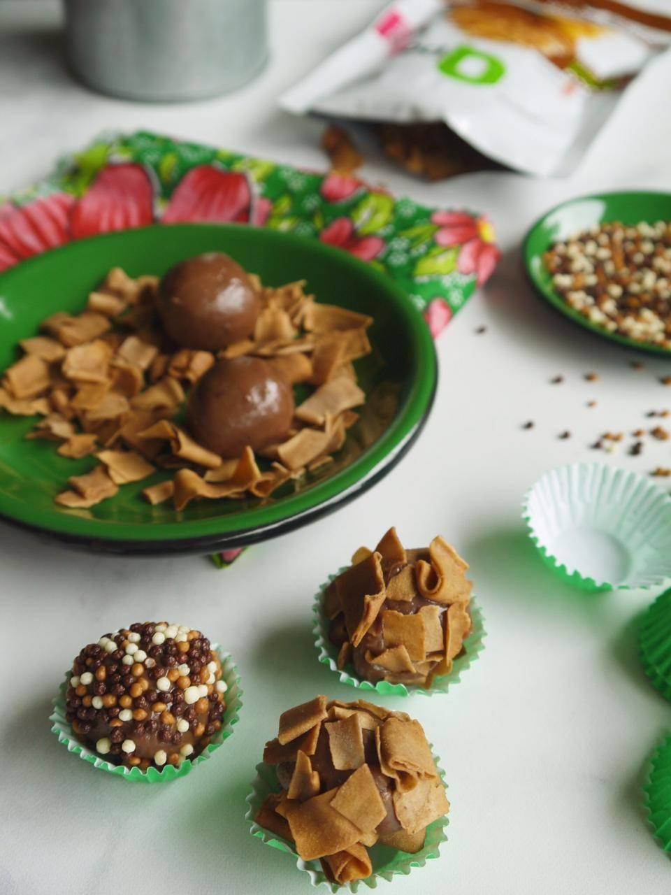 Chips de Coco assado – Sabor Chocolate – Qpod – 40g - QPod