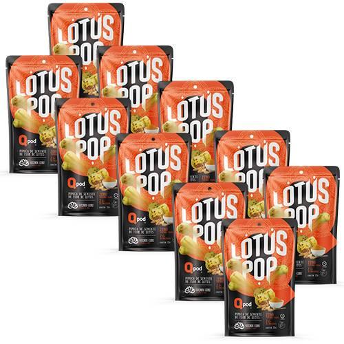 Combo 10 unidades - Lotus Pop Golden Guru - Cúrcuma 35g - QPod