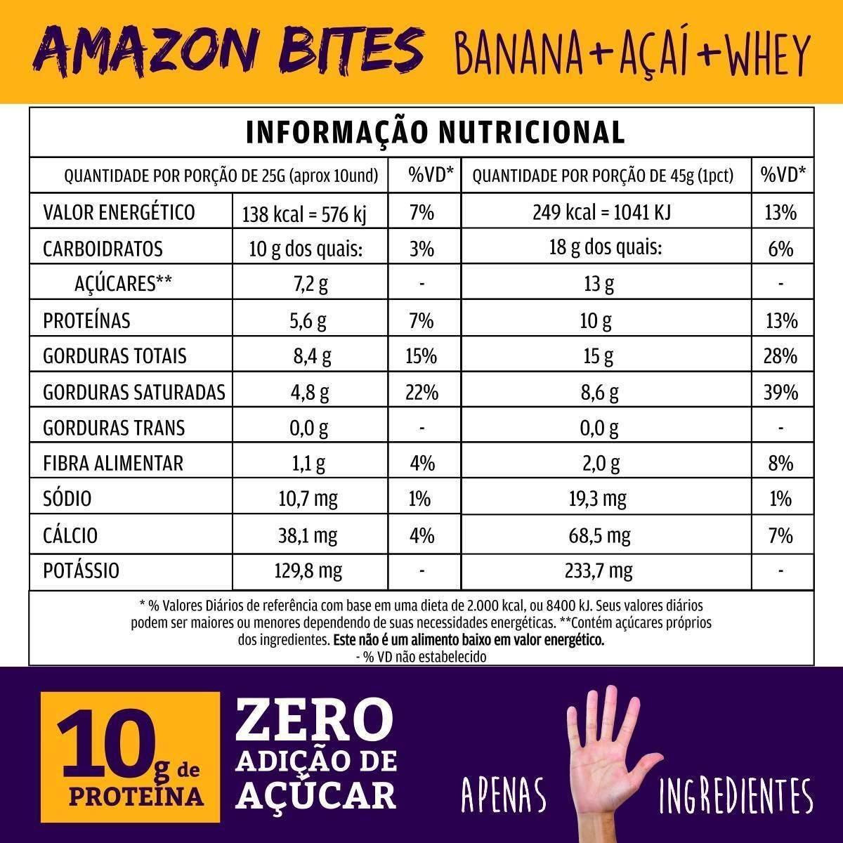 Combo 5 unidades - Amazon Bites - QPod
