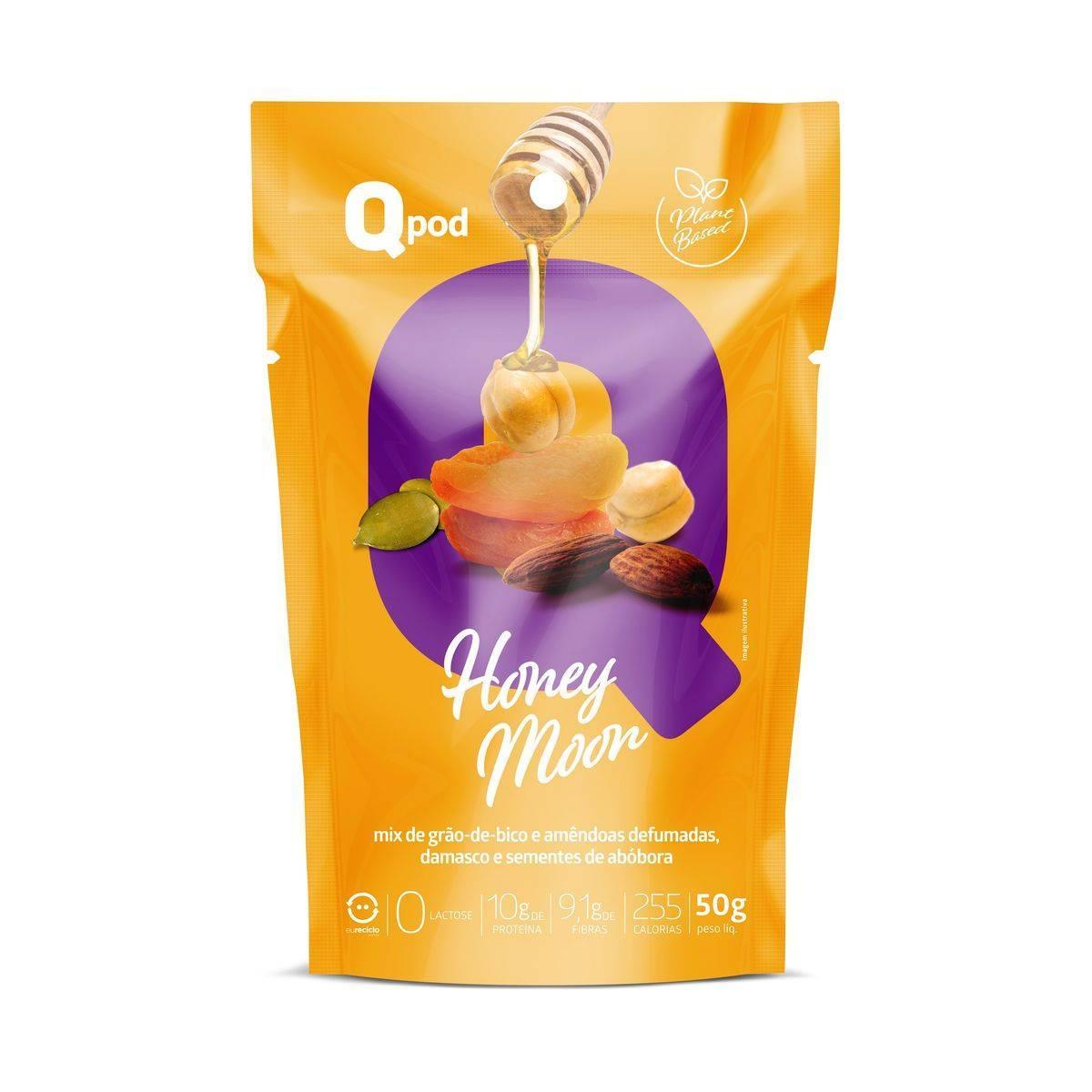 Combo 5 unidades - HONEY MOON – Sabor Chocolate - QPod
