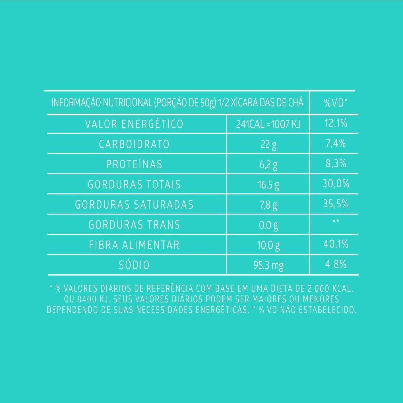 Combo 5 unidades Chocopeace +  5 unidades Chips de Coco assado – Sabor Chocolate - QPod
