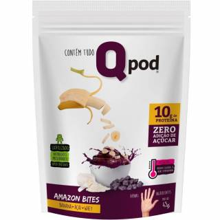 AMAZON BITES ( BANANA + AÇAÍ + WHEY ) 45g