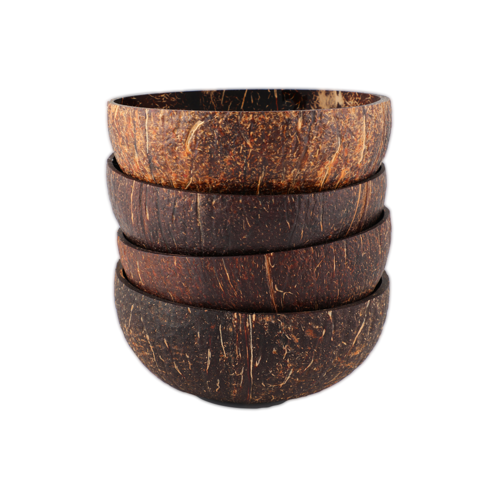 Kit com 4 Bowls de Coco - QPod