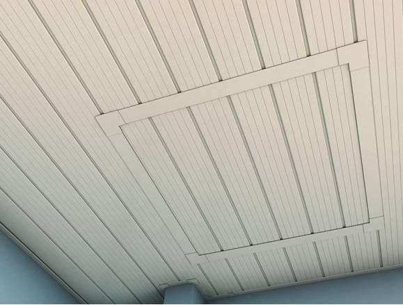 Alçapão Forro PVC 60x60.cm Branco - Casa Sul Materiais e Acabamento