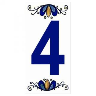 Número Residencial Cerâmico 15.cm  4