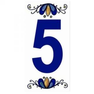 Número Residencial Cerâmico 15.cm  5