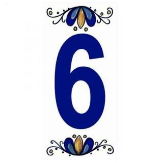 Número Residencial Cerâmico 15.cm  6