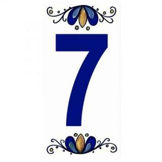 Número Residencial Cerâmico 15.cm  7