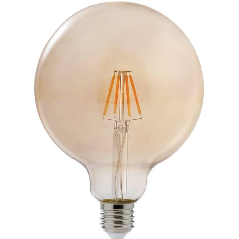 Lâmpada Retrô Filamento 4.W Ambar 2200k - Casa Sul Materiais e Acabamento