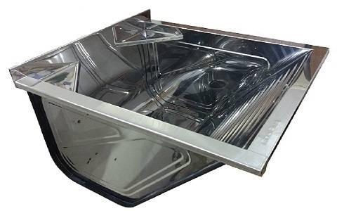 Tanque Inox mini com Suporte Ghelplus 430 32.L - Casa Sul Materiais e Acabamento