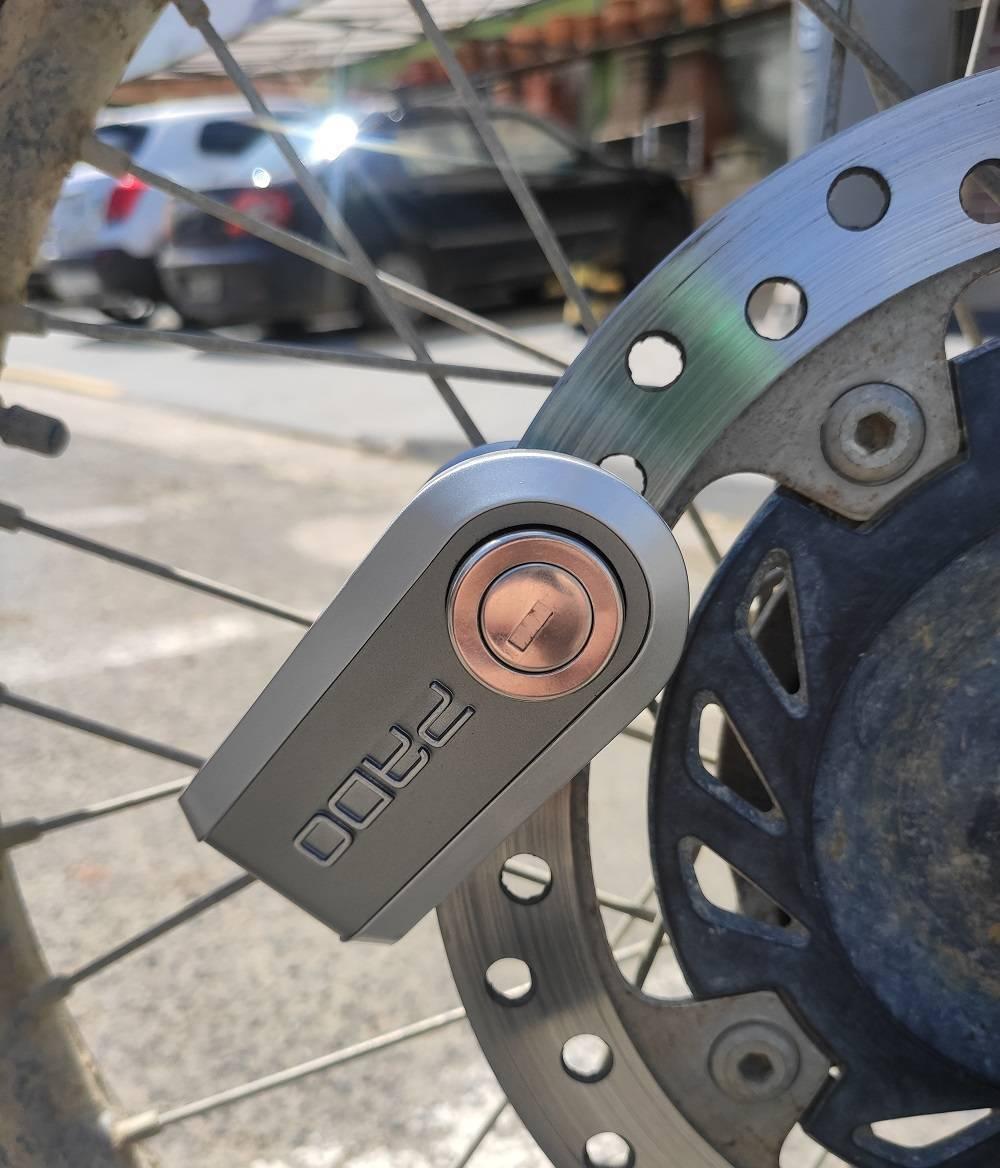 Cadeado Para Moto Pado Al Rock - Casa Sul Materiais e Acabamento