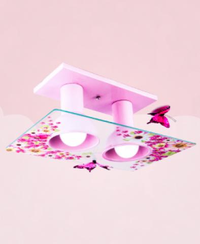 Plafon floral Startec - Casa Sul Materiais e Acabamento
