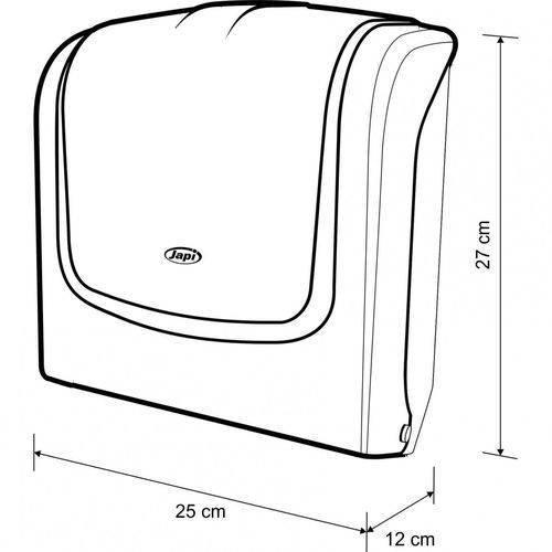 Porta Papel Toalha Japi HPPT1  Branco - Casa Sul Materiais e Acabamento