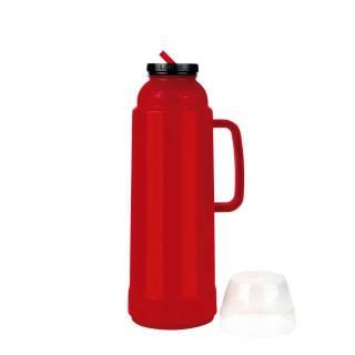 Garrafa Térmica Mor Use Flip 1.L Vermelha