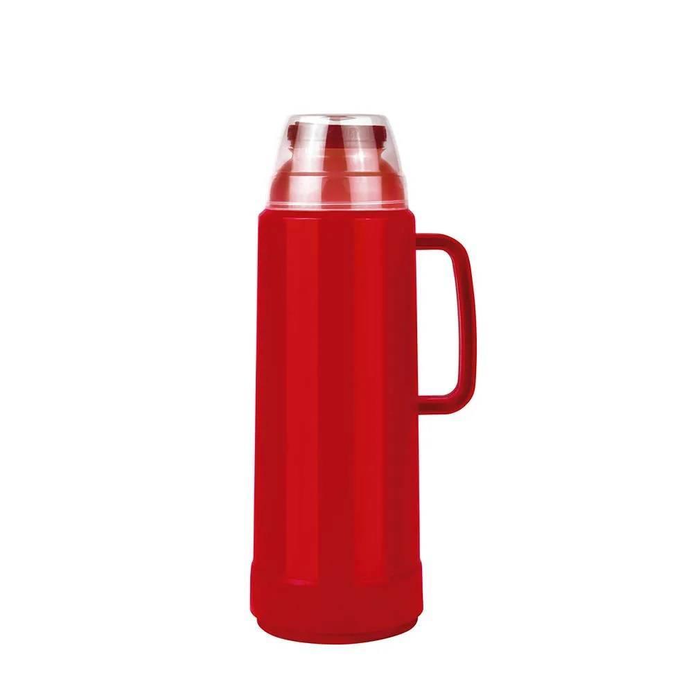 Garrafa Térmica Mor Use Flip 1.L Vermelha - Casa Sul Materiais e Acabamento