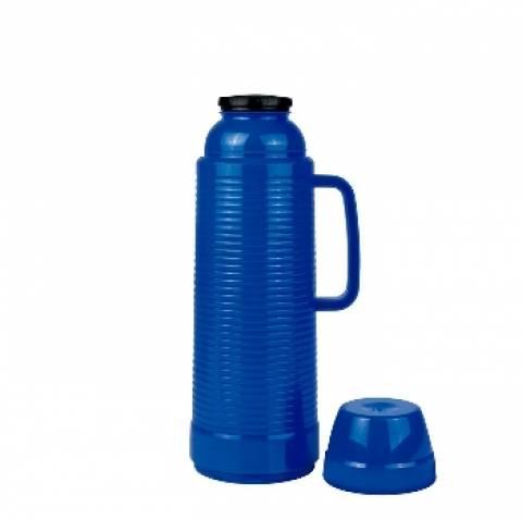 Garrafa Térmica Mor Wave 1.L Azul - Casa Sul Materiais e Acabamento