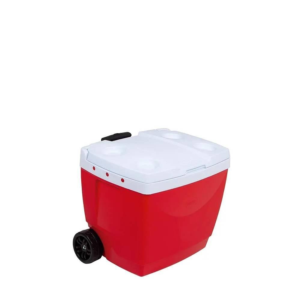 Caixa Térmica Mor 42.L Vermelha - Casa Sul Materiais e Acabamento