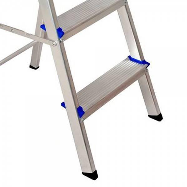 Escada Residencial Alumínio Real 08 Degraus  - Casa Sul Materiais e Acabamento