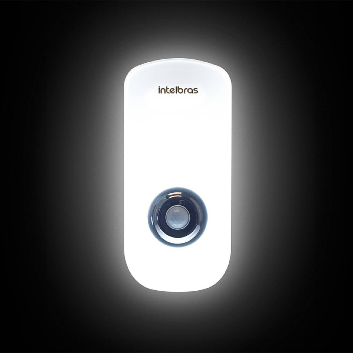 Luminária Emergência Sensor De Presença Esi 5003 Intelbras - Casa Sul Materiais e Acabamento