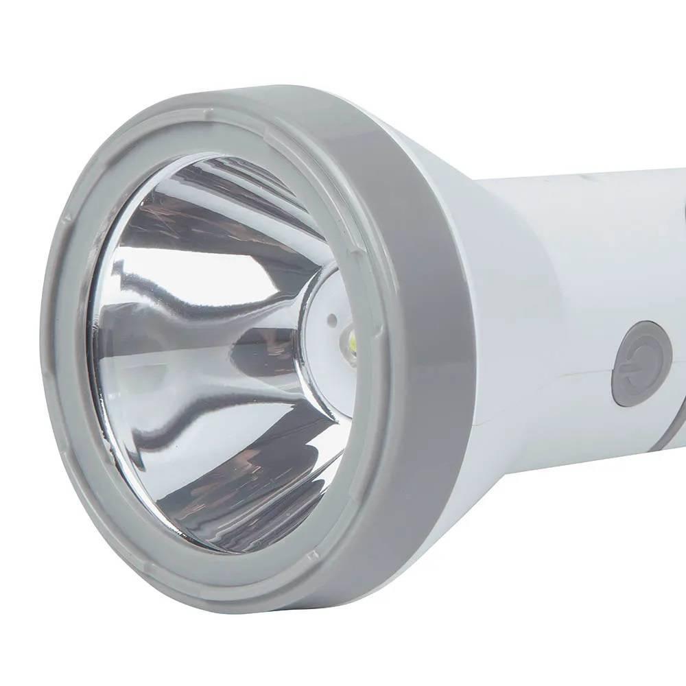 Lanterna Recarregável Mor 140 Lumens Branca - Casa Sul Materiais e Acabamento