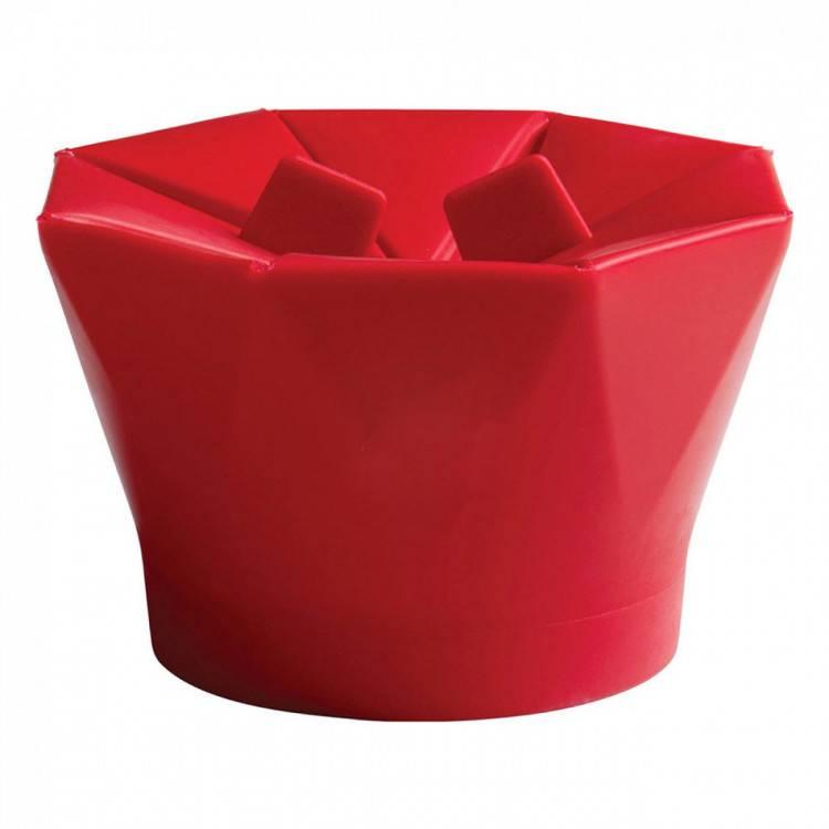 Pipoqueira Silicone Mor Vermelha - Casa Sul Materiais e Acabamento