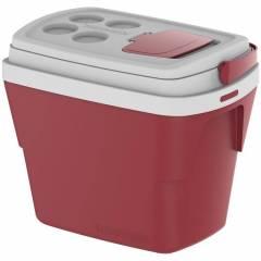Caixa Térmica Soprano Tropical 28.L  Vermelha