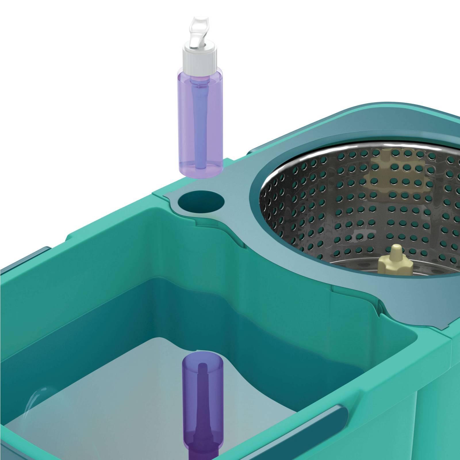 Mop FlashLimp Giratório Pro 9.L  Verde - Casa Sul Materiais e Acabamento